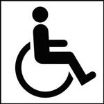 Chambres accessibles handicap